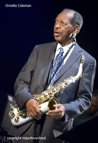 ornette coleman at gent jazz 2010