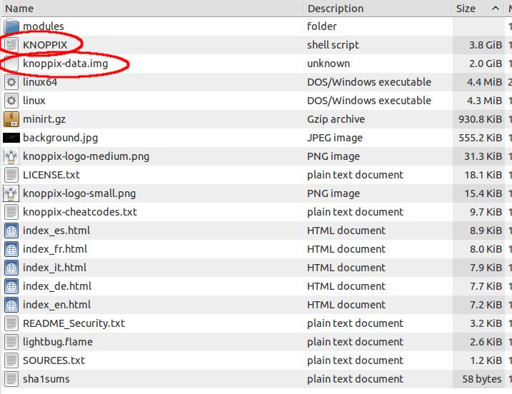 directory knoppix su HD poor man's