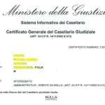 certificato anti pedofilia