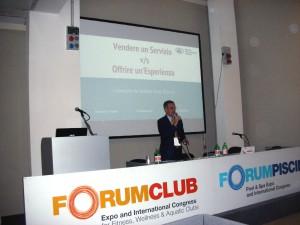 Maurizio Crisanti Forumpiscine 2016 Prodotto o esperienza
