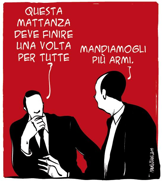 E semplice at Mauro Biani punto it