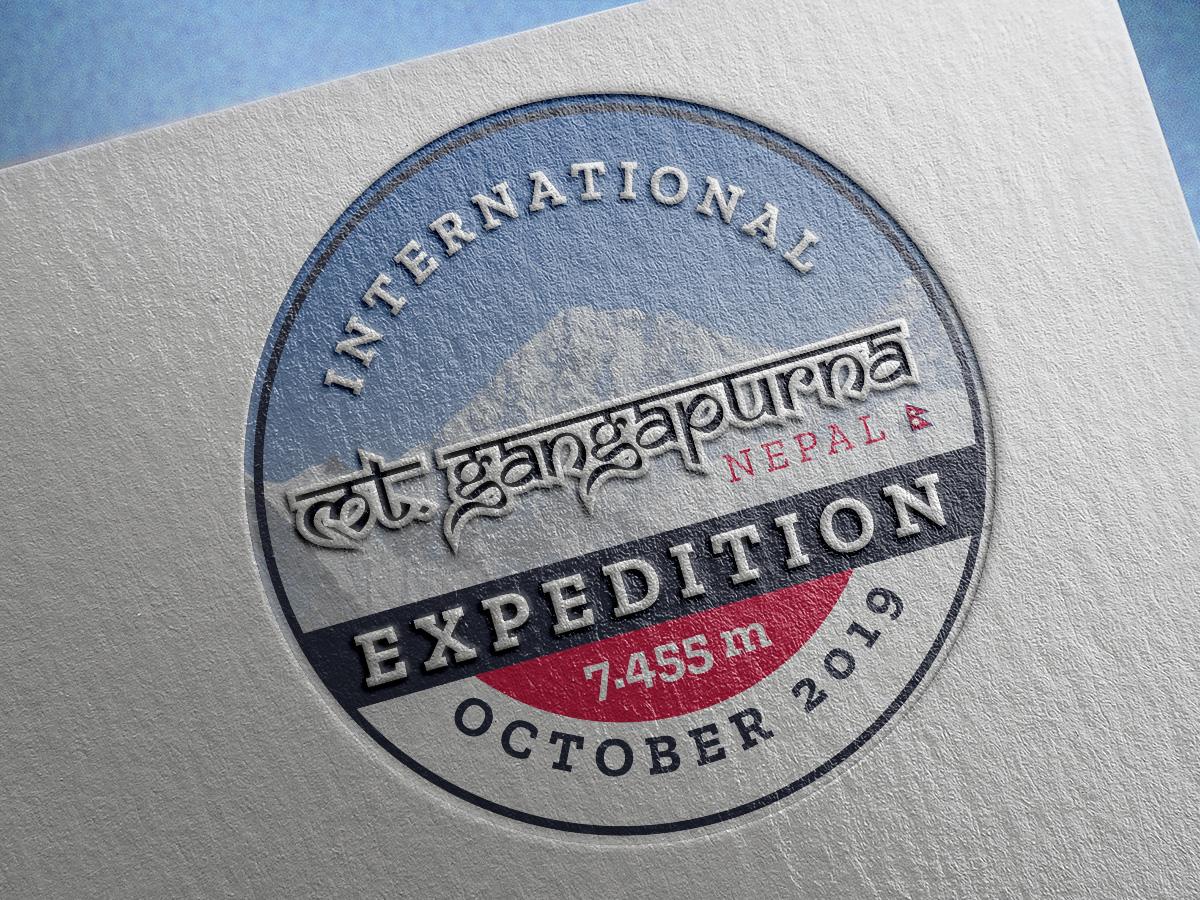 Gangapurna Expedition - Logo