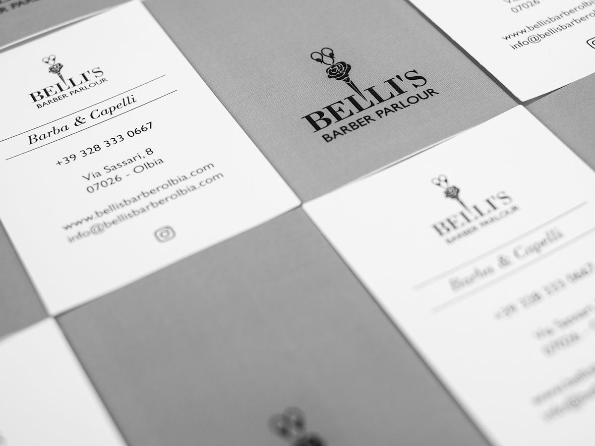 Belli's Barber - Biglietto da visita