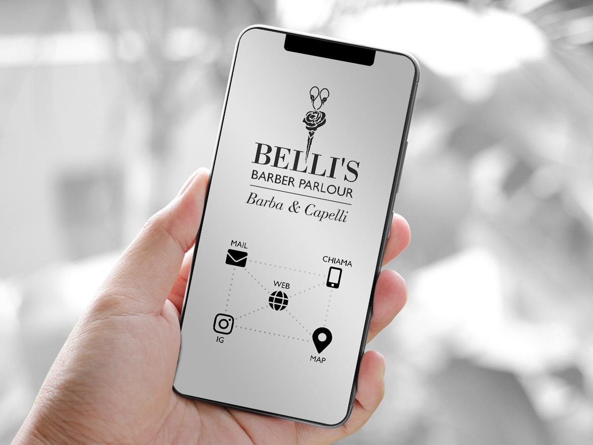 Belli's Barber - Biglietto da visita digitale