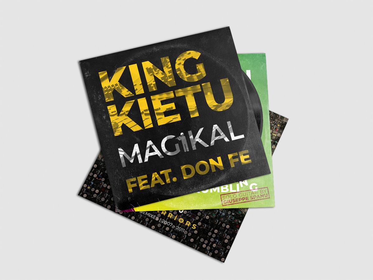 King Kietu - Copertina Magikal