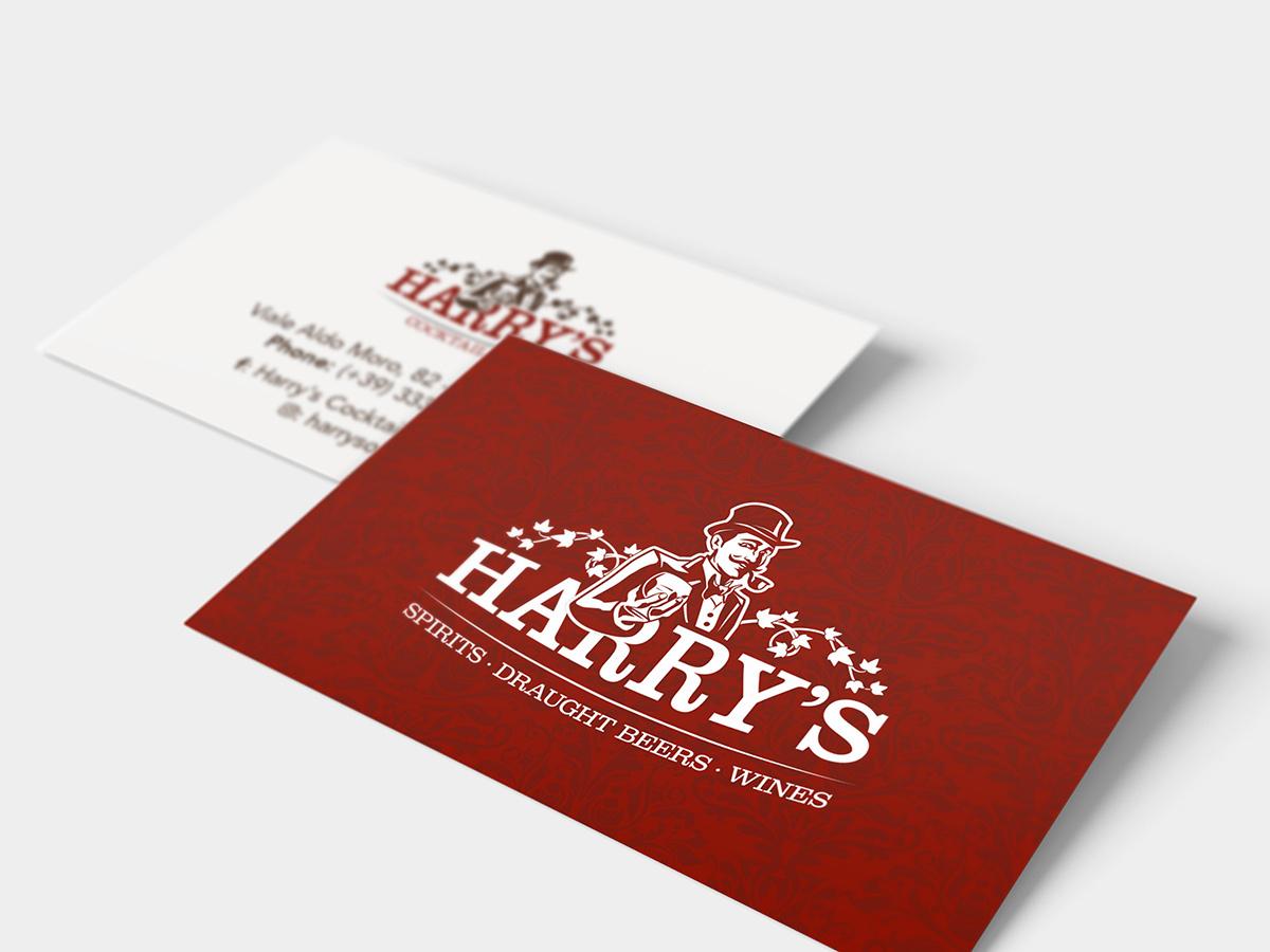 Harry's - Biglietto da visita