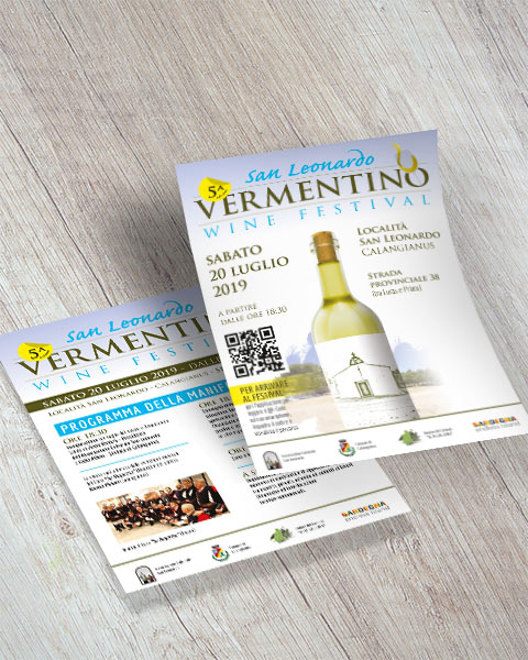 San Leonardo Vermentino wine festival - Volantino (mobile)