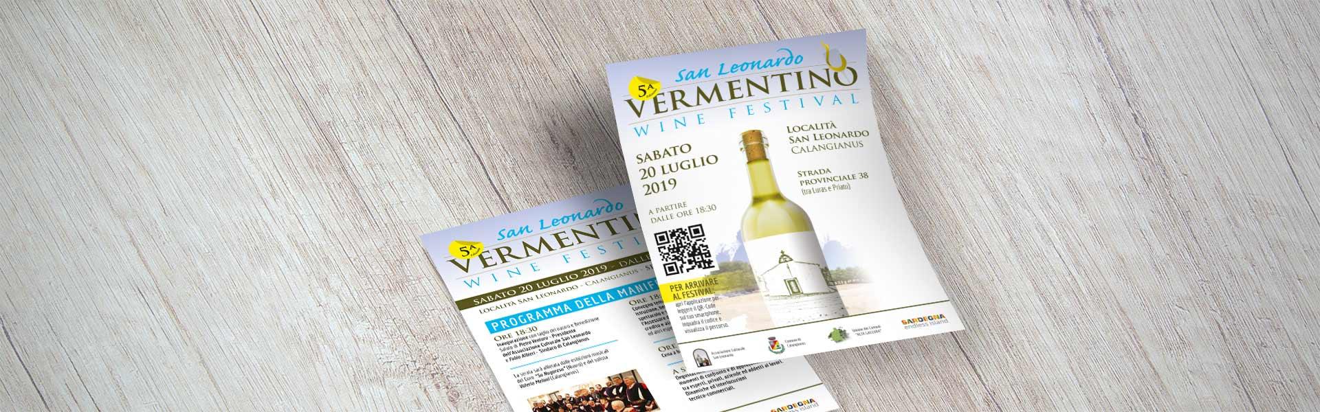 San Leonardo Vermentino wine festival - Volantino (desktop)