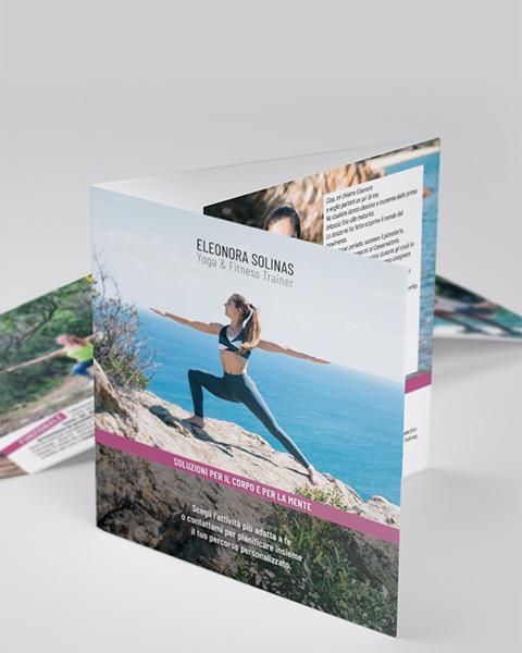 Eleonora Solinas Yoga - Pieghevole (mobile)