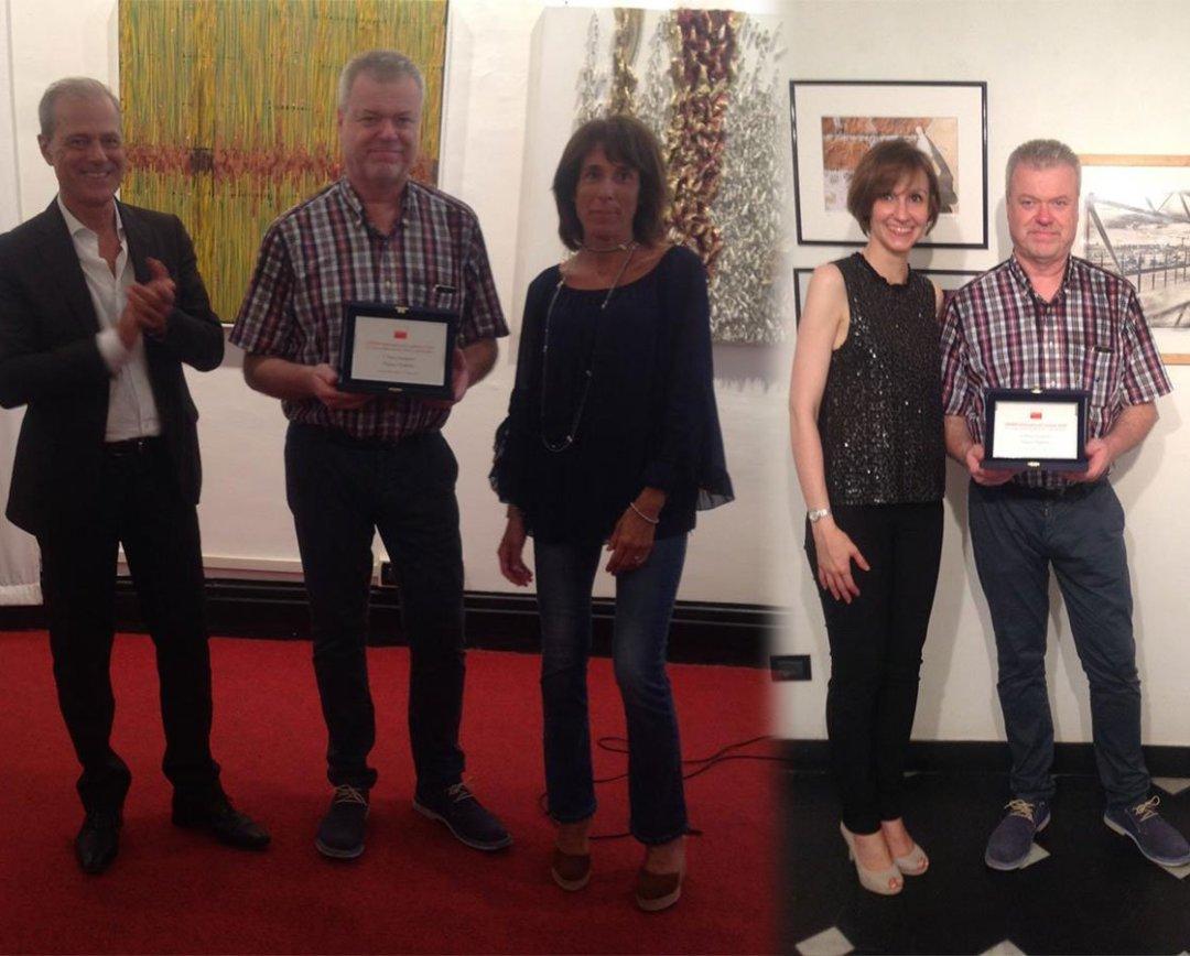 Premiazione concorso d'arte moderna