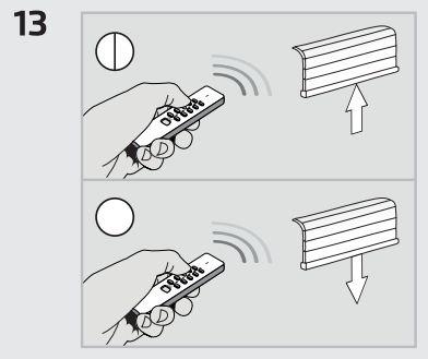 Interruptor para controlo sem fios de motores eléctricos