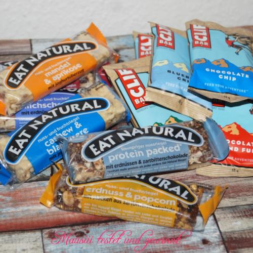 Eat Natural und Clif Bar