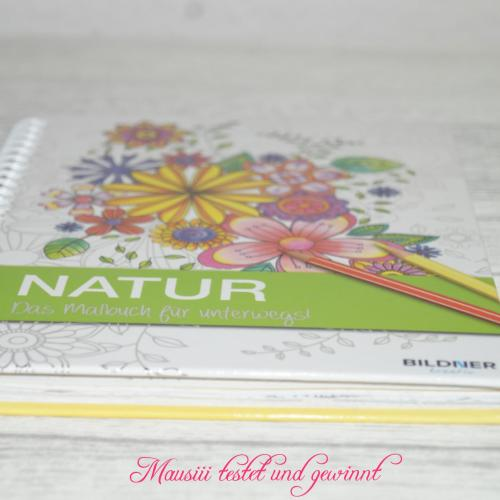Natur-Ausmalbuch