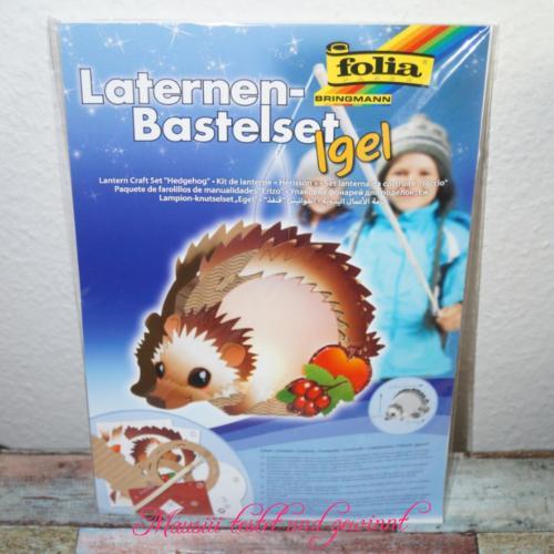 Igel-Laterne-Bastelset