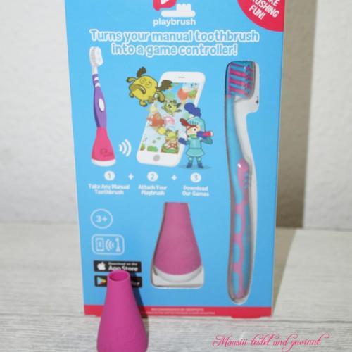 Playbrush Testprodukte
