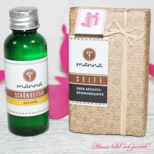 Manna Schönheitsöl und Seife