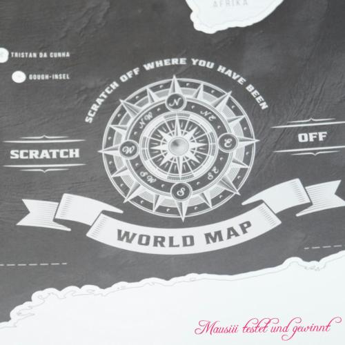 Scratch / Scrape off world map Geheimshop