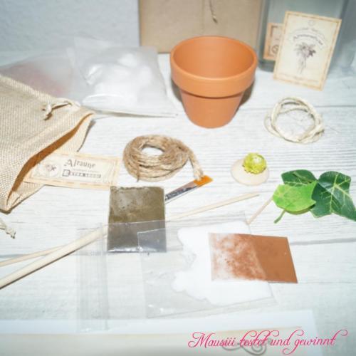 Inhalt Beutel für Alraune MidnightBookBox