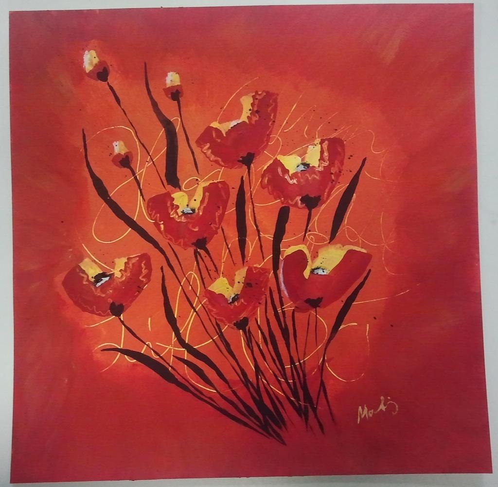 Mausssde  Acrylmalerei