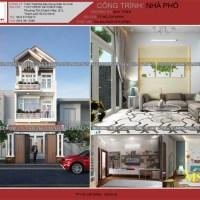 Thiết kế nhà 2 tầng 5x20 mái thái đẹp tại quận 6