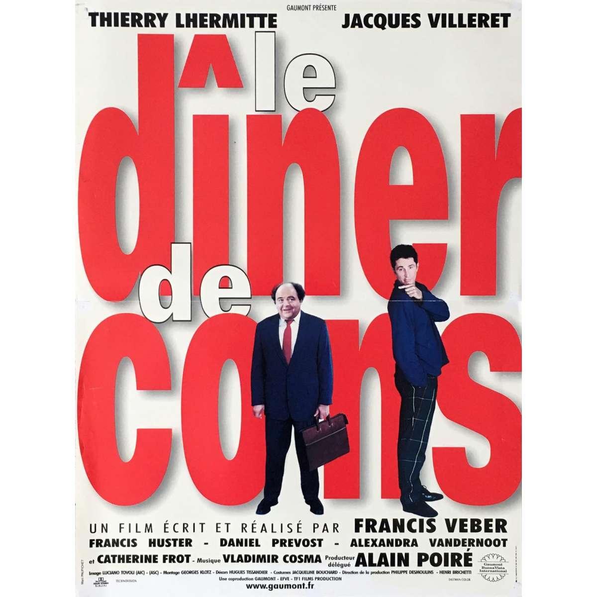 Film Le Diner De Cons : diner, Affiche, DINER