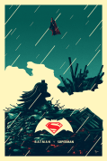 Batman V Superman Dawn of Justice by Derek Payne