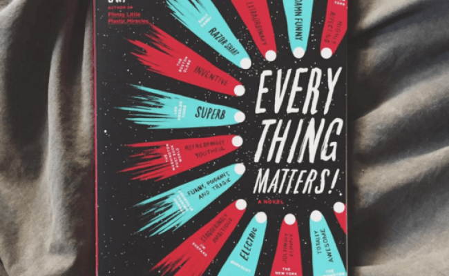 Everything Matters By Ron Currie Jr Infinite Jess