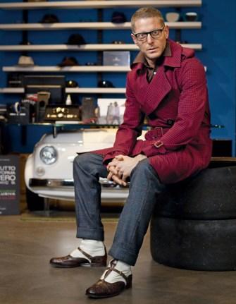 Barbati care ne inspira: LAPO ELKANN www.mauvert.com