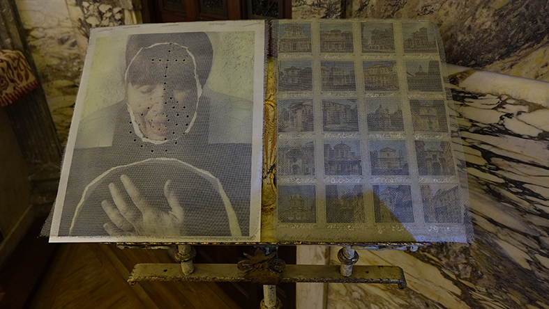 La artista Angiola Bonanni presenta el vídeo sobre su exposición en la Emabajada de Italia