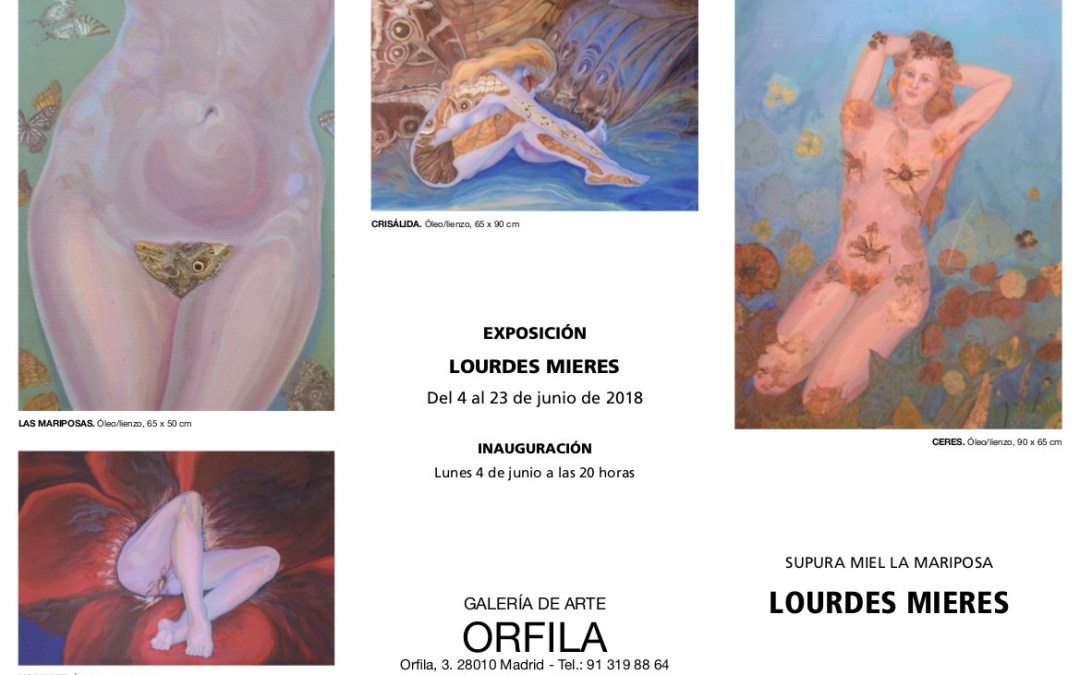 Lourdes Mieres expone en la Galería Orfila de Madrid hasta el 23 de junio
