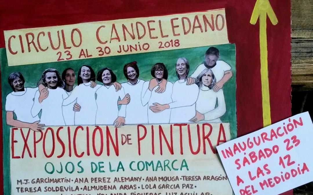 23 de junio a las 12.00h: Presentación y exposición del Colectivo de Pintoras Rurales OJOS DE LA COMARCA en Candeleda