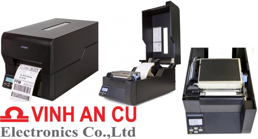Máy in mã vạch CL-E720DT, may in ma vachCL-E720DT