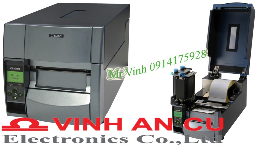 Máy in mã vạch CL-S700, may in ma vach CL-S700