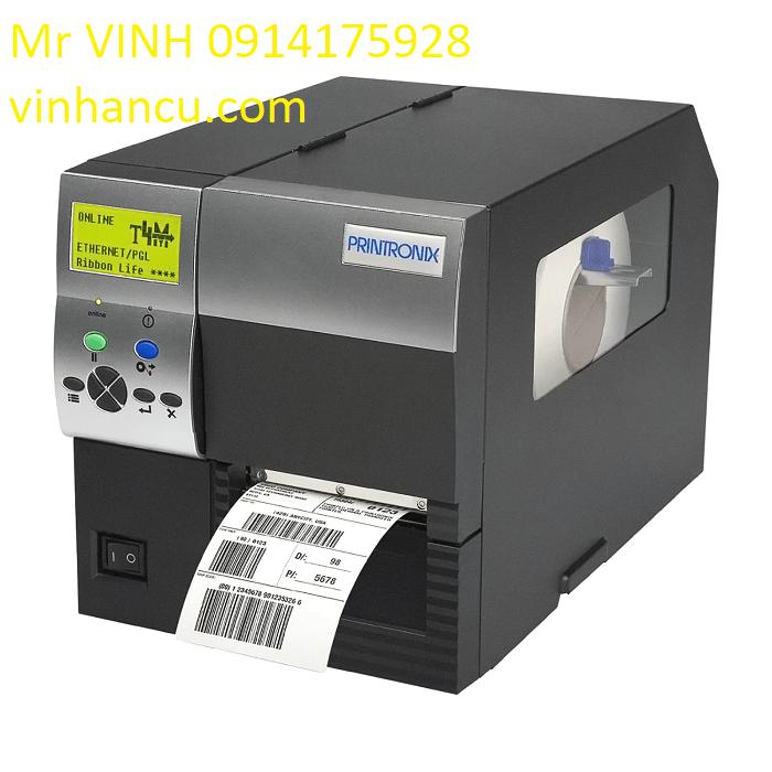 Máy in nhãn công nghiệp Printronix T4M 203dpi DT / TT TT4M2-0100-00 – w / Tear Bar