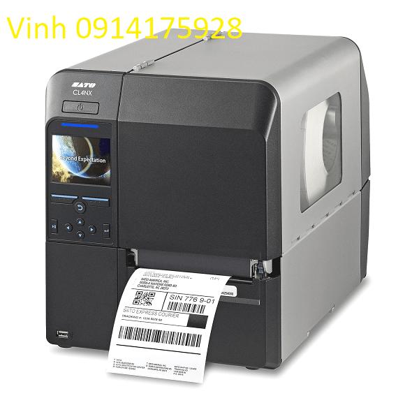 SATO CL412NX Bluetooth 305dpi DT / TT Máy in nhãn công nghiệp phổ quát WWCL20061