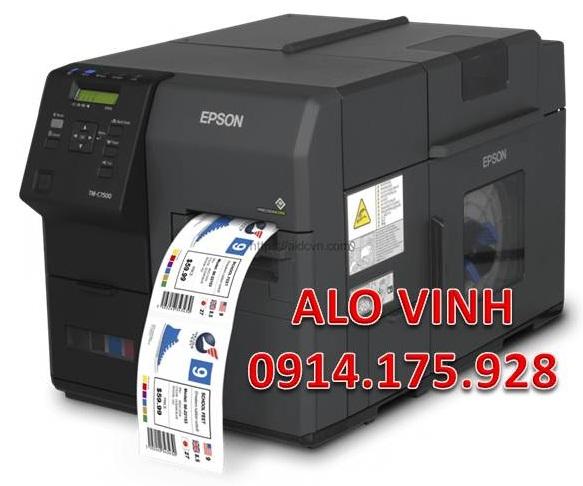 Epson C7500 Giá Rẻ In Tem Chất Lượng
