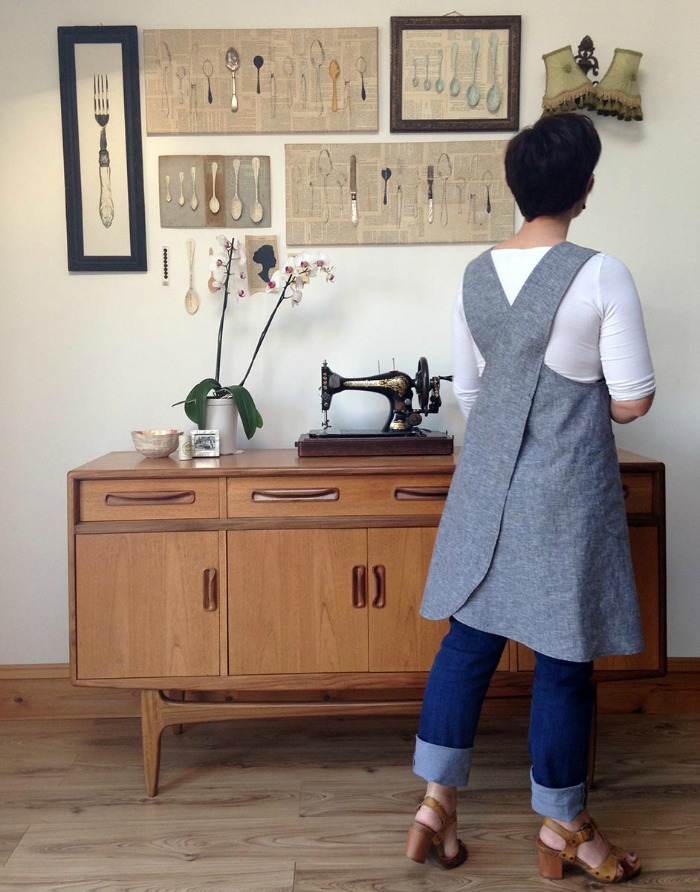 Maven Patterns The Maria Wrap Apron