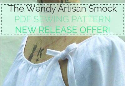 The Wendy Artisan Smock - PDF Sewing Pattern by Maven Patterns