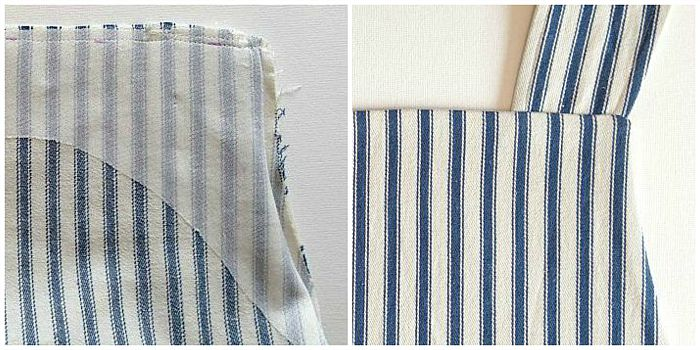 Maven Patterns: The Maria Wrap Apron reversible tutorial