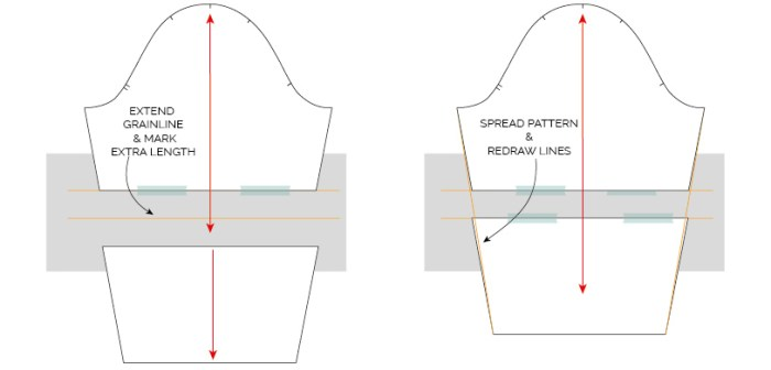 HOW TO LENGTHEN OR SHORTEN A SEWING PATTERN TUTORIAL_MAVEN PATTERNS-02