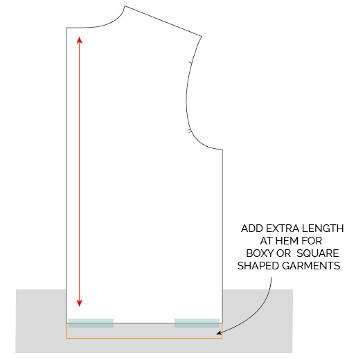 HOW TO LENGTHEN OR SHORTEN A SEWING PATTERN TUTORIAL_MAVEN PATTERNS-04