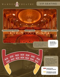 What is premium seating also warner theatre rh warnertheatredc