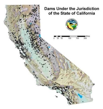 Dams in California