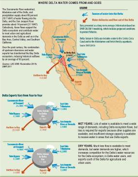 Where Delta Water Comes From and Goes To