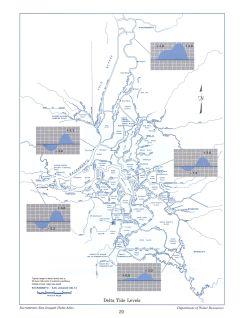 Delta Tide Levels, from the Delta Atlas, 1995