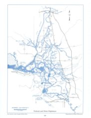 Federal and State Highways, from the Delta Atlas, 1995