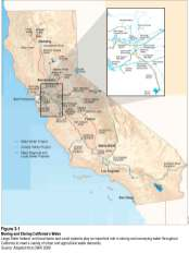 California's water infrastructure, from the Delta Plan