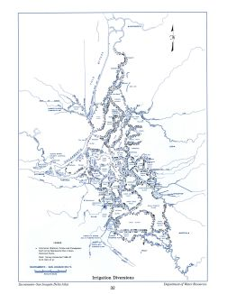 Irrigation Diversions, from the Delta Atlas, 1995