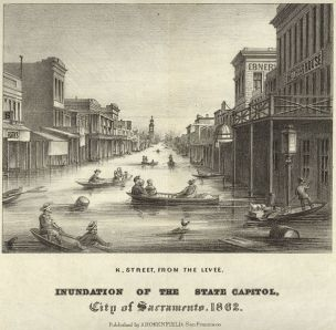 Flooding, State Capital, 1862, from WikiMedia