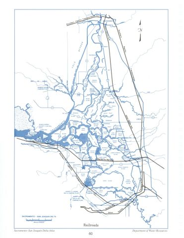 Railroads, from the Delta Atlas, 1995